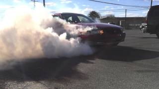 Buick Regal GS Burnout (supercharged 3.8L)