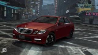 Grand Theft Auto IV - Mercedes-Benz E 63 AMG Mod