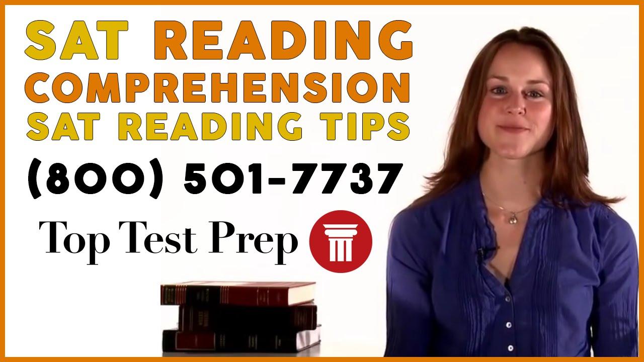 SAT Exam - #1 Best SAT Verbal/Reading/Tips - TopTestPrep.com - YouTube