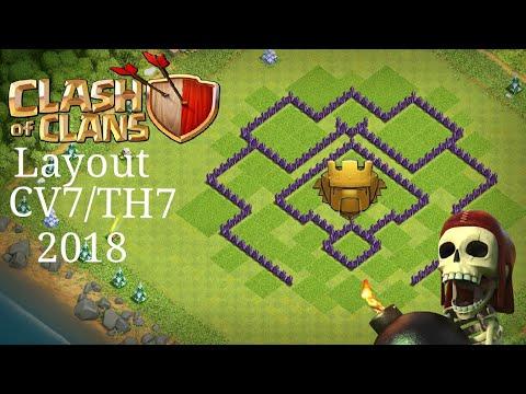 layout de push cv7 2018 youtube