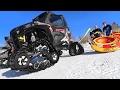 MONSTER TRUCK SNOW TUBING