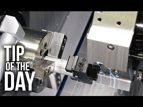 Boost Productivity on Your Haas Lathe with a Bar Puller and Macros – Haas Automation Tip of the Day
