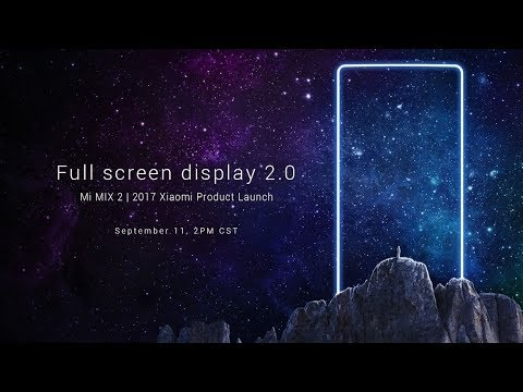 Mi Mix 2 Launch Live | Xiaomi Mi Mix 2 Full Event