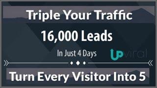 UpViral |  Best Viral Marketing Software