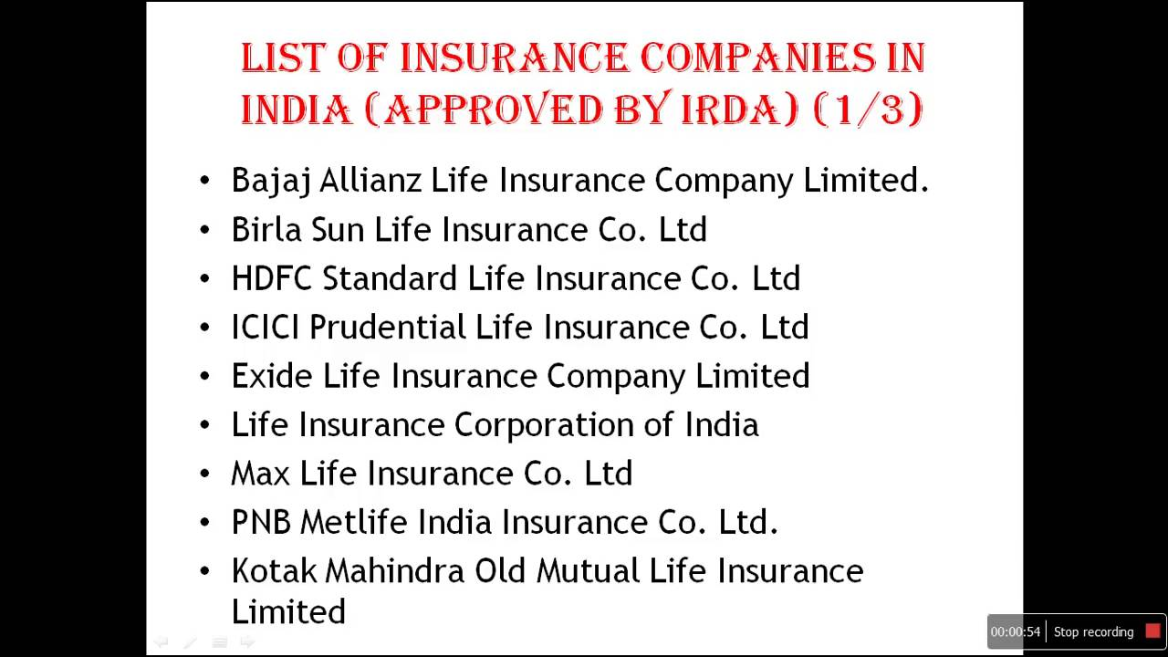 Metlife Life Insurance Quotes List Of Insurance Companies In India  Youtube