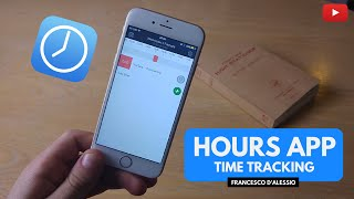Hours 1.0 iOS App: Time Tracking Tool!