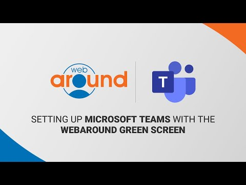 How to Set up Microsoft Teams Background Effects with the Webaround