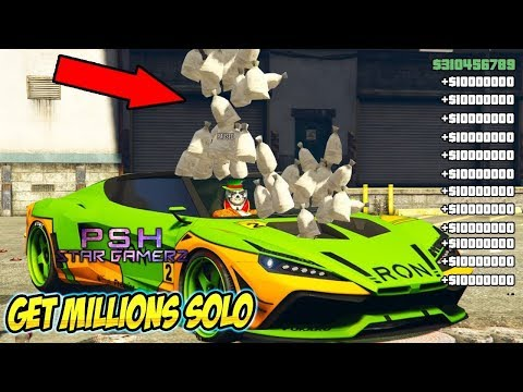 GTA 5 MONEY GLITCH - Unlimited Solo Money Glitch 1.48 *GTA 5 Online*