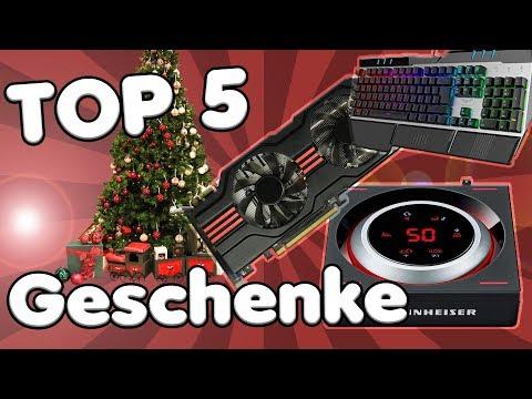 TOP 5 Weihnachtsgeschenke für PC GAMER 2017 | Die besten Geschenkideen