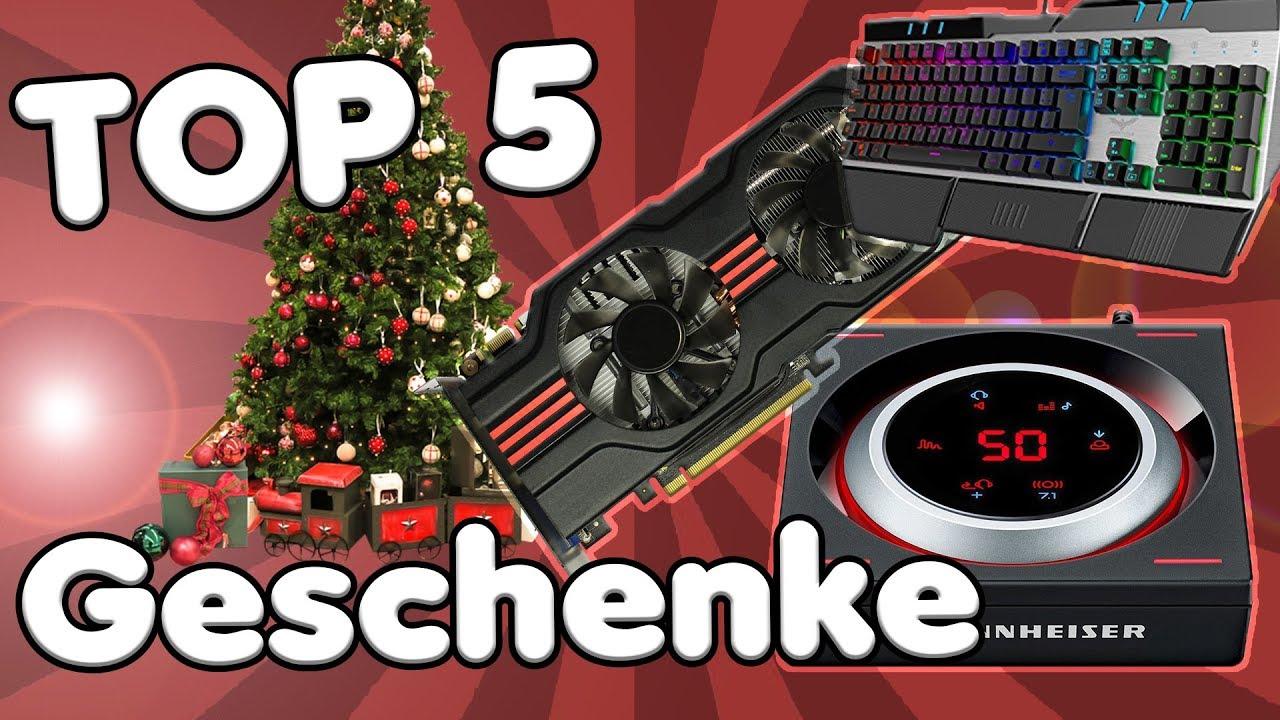 top 5 weihnachtsgeschenke für pc gamer 2017 | die besten