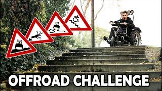 The ULTIMATE TEST for our OFFROAD WHEELCHAIR! | Offroad Challenge