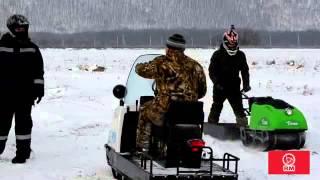 Тест-Драйв снегоходов Буран А и Tayga 550