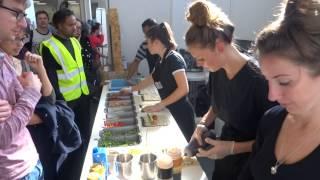 "Japanese Sushi Wraps - Vegan/vegetarian Street Food By ""happy Maki"" At Vegfest, Olympia, London, Uk."