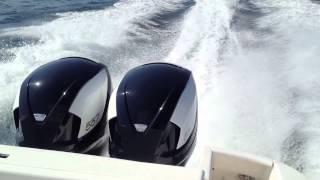 Intrepid 375 Walk Around | 7 Marine 557HP Outboards