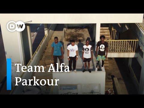 Team Alfa Parkour dá a conhecer a modalidade em Angola