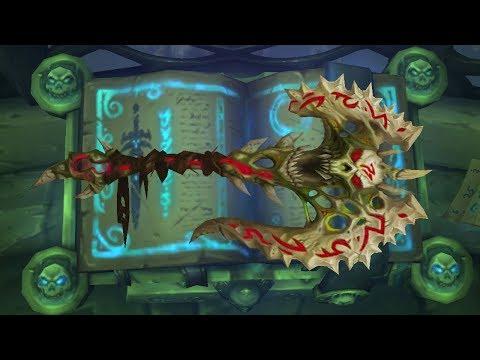 Warcrafts Waffen - Schlund der Verdammten   WoW Lore