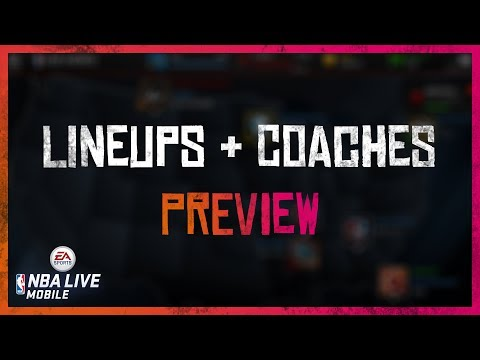 Season 2 Preview of Lineups & Coaches! - NBA LIVE Mobile