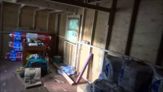 Insulating Tiny Home Kitchen And Bathroom