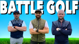 RICK SHIELS & PETER FINCH CHALLENGE ME TO BATTLE GOLF - GOLF COURSE VLOG