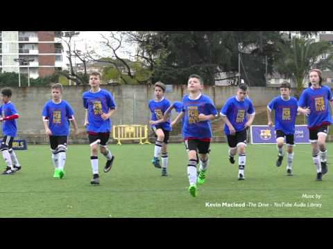 """Manhattan Kickers FC """"ACTION"""" Soccer Experience in Catalonia - Easter'16"""