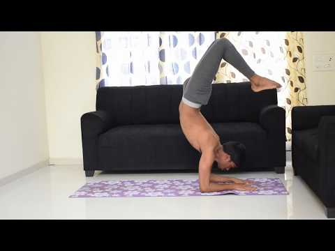 How to do Scorpion Pose (Vrischikasana) | Step by step | Rakesh Yoga