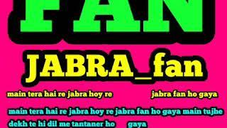 jabra fan mp3 hindi(fan)
