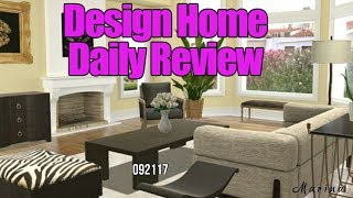 Design Home Daily Review - Daily Plus Game Glitch? Inventories Disappear