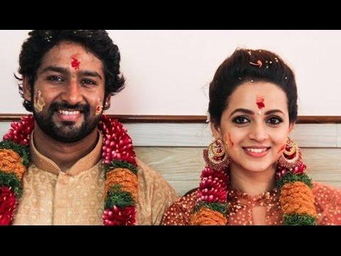 Bhavana Marriage full photos with Kannada Producer Naveen | ഭാവന ഇനി നവീനൊപ്പം