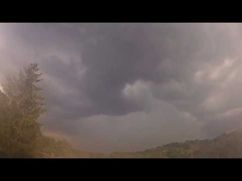 Building storms over Cincinnati