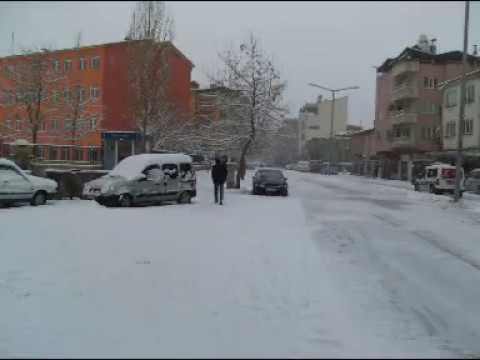 Göksun'da Kış Mevsimi 2008