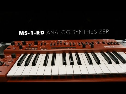Behringer MS-1-RD Analog Synthesizer   Gear4music Demo