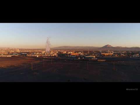 Las Vegas Industrial Drone Footage