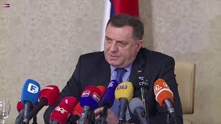 Milorad Dodik PRESS  - Istocno Sarajevo
