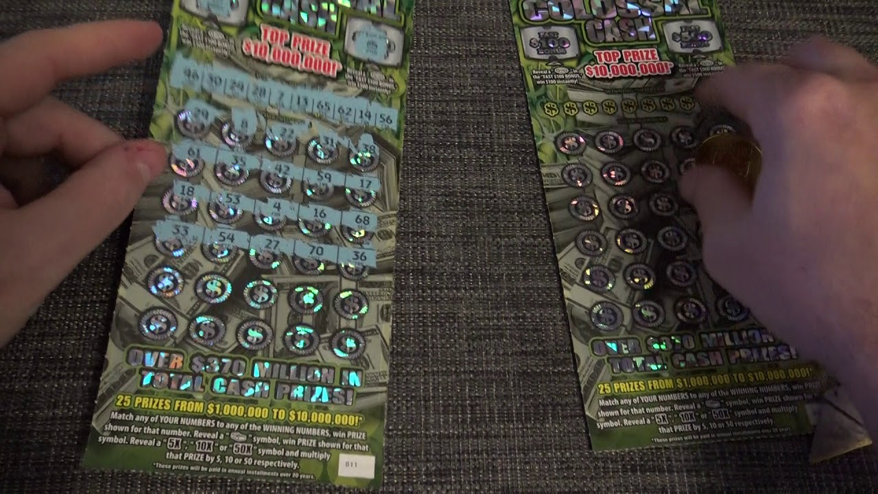 Did we win? NC Lottery Scratch Off Tickets  Back Scratch Ticket Part 2/2