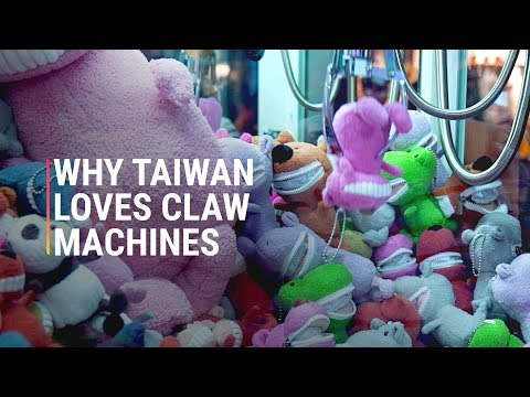 Why Taiwan Is Obsessed With Claw Machines : clawmachine