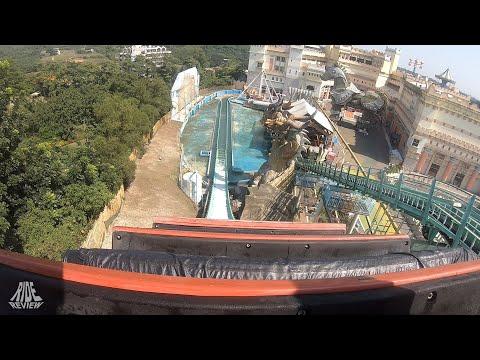 Flume Ride / 飛越愛琴海 - POV - E-DA Theme Park (Taiwan) - abc rides - Water Coaster