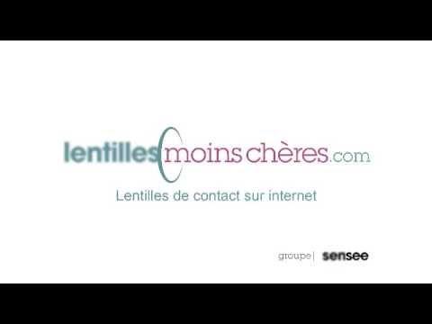 Vidéo PUB TV lentilles.com