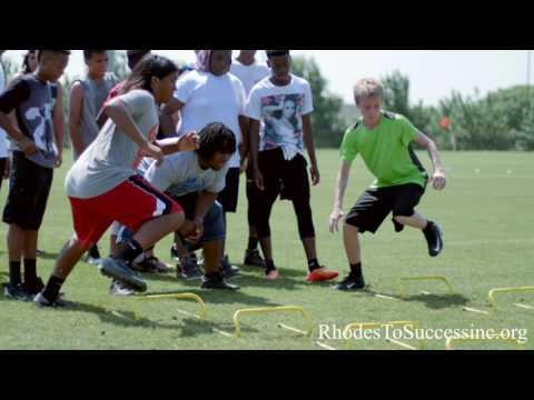 "Super bowl XLI MVP Dominic Rhodes ""Rhodes to Success"" Football camp"