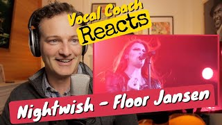 Vocal coach REACTS - Nightwish 'Yours Is An Empty Hope' (LIVE 2015)