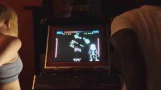 [Undertale x DDR] MEGALOVANIA on an actual machine