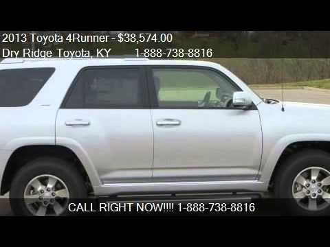 2013 toyota 4runner sr5 for sale in dry ridge ky 41035 youtube. Black Bedroom Furniture Sets. Home Design Ideas