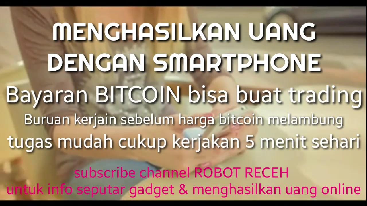 tutorial mendapatkan BITCOIN gratis modal smartphone 2019