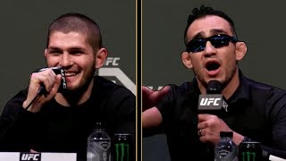 Khabib Nurmagomedov vs Tony Ferguson TRASH TALK