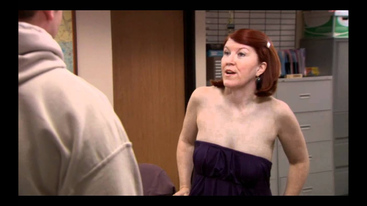 Does have pam from the office naked minutes tease