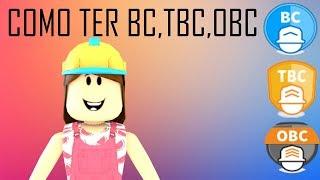 Roblox - TUTORIAL COMO COMPRAR BC,TBC OU OBC!