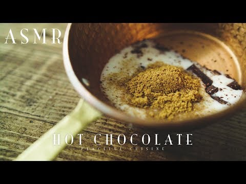 [ASMR] How to Make Hot Chocolate (vegan)