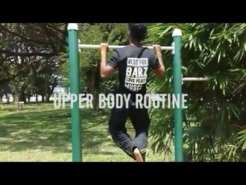 Blood For Barz - Upper Body Routine!