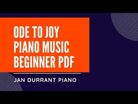 Ode To Joy Free Piano Sheet Music