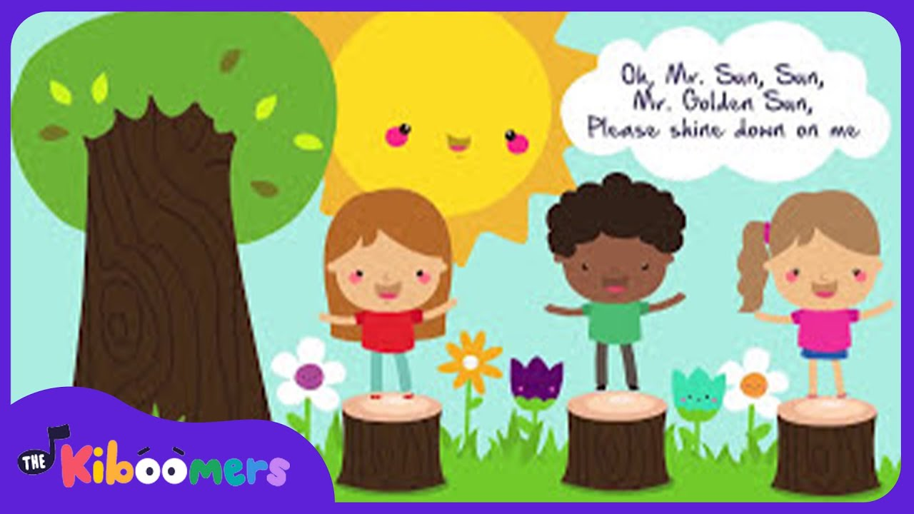 Mr Sun | Songs for Kids | Baby Songs | The Kiboomers