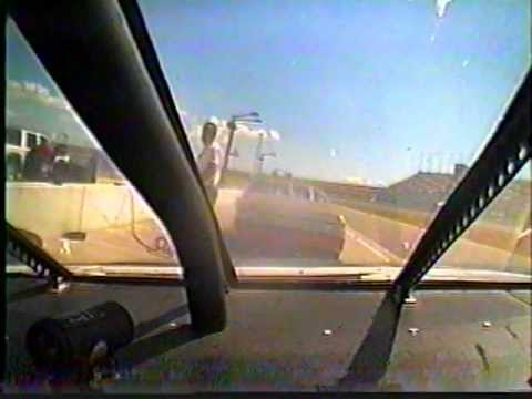NASCAR RIDE ALONG CRASH AT KANSAS SPEEDWAY/ SKIP BARBER RACING EXPERIENCE